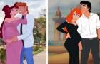 Le coppie Disney in dolce attesa: un'artista ha immaginato il loro futuro in alcune illustrazioni