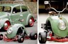 Uno studio ha progettato un veicolo che coniuga l'eleganza del maggiolino alla sportività del go-kart
