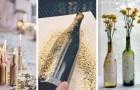 12 projets DIY pour transformer des bouteilles en verre en de belles décorations