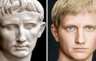 Gli imperatori romani come non li avete mai visti: uno studente ricrea i volti di questi personaggi storici