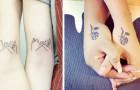 12 tatuagens emocionantes que celebram o vínculo entre irmãs da maneira mais original