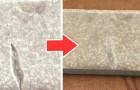 La méthode rapide et facile pour réparer les carreaux de céramique ébréchés avec de la colle et du bicarbonate