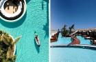 Auf Kreta gibt es ein Resort mit Unterkünften am Wasser, die denen einer tropischen Insel ähneln, aber viel weniger kosten