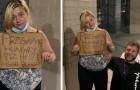 Ein Paar beschließt, einer arbeitslosen schwangeren jungen Frau zu helfen: Sie schafft es nicht, die Tränen zurückzuhalten