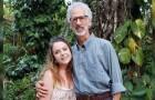 Een 22-jarig meisje trouwt met een 63-jarige man: het verhaal van een liefde die geen leeftijd kent
