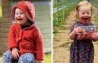Dit schattige meisje met het syndroom van Down is al een model: op haar 2e wordt ze een symbool van inclusiviteit
