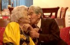 He is 110, she is 104: their combined age officially makes them the oldest couple in the world