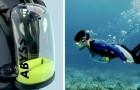 Exolung, il respiratore subacqueo che fornisce ossigeno