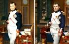 Een fotograaf heeft de portretten van enkele historische figuren nagebootst door hun directe afstammelingen als model te gebruiken