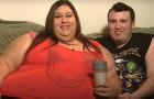 Ce couple de fiancés poursuit un rêve improbable : elle veut devenir la femme la plus grosse du monde
