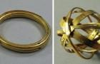 Questo anello del XVII secolo si apre e diventa un curioso strumento usato nell'antichità per studiare il cielo