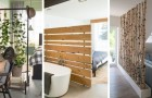 11 soluzioni ingegnose per dividere gli spazi nelle stanze con pareti originali e piene di stile