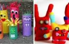 7 lavoretti divertenti per realizzare simpatici mostri con tanti oggetti diversi