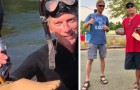 Un uomo trova la protesi di una gamba da 15.000 dollari in un fiume e riesce a restituirla al proprietario