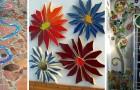 12 strepitosi mosaici fai-da-te per decorare qualsiasi cosa riciclando le ceramiche rotte