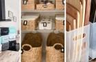 10 dritte utili per fare ordine nelle varie stanze utilizzando i contenitori