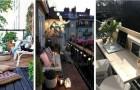 10 proposte irresistibili per trasformare anche i balconi più piccoli in confortevoli salottini