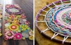 9 metodi ingegnosi per realizzare tappeti colorati e personalizzati dall'aspetto unico