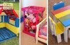 10 spunti irresistibili per creare mobili adatti ai bambini con le vostre mani utilizzando i pallet