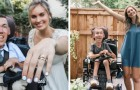 He is disabled and she is not: they marry against all prejudice, proving that love can overcome any obstacle