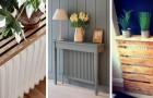 12 solutions DIY ingénieuses pour couvrir les radiateurs et décorer avec goût