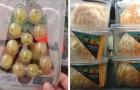 16 Lebensmittel in nutzlosen und umweltschädlichen Kunststoffverpackungen