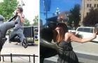 19 Menschen, die Statuen zum Leben erweckt haben, indem sie auf die lustigste Art und Weise mit ihnen interagierten