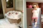 15 crianças que ficaram sozinhas em casa e fizeram uma verdadeira bagunça