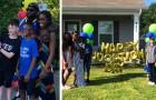 Een 12-jarige jongen wordt officieel geadopteerd door de familie van zijn beste vriend - een droom die uitkomt