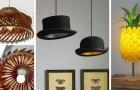 11 idee strepitose per realizzare lampade, lampadari e paralumi super-scenografici