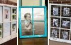 10 spunti creativi per ricavare splendide cornici per foto dalle vecchie finestre