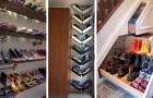 Le idee più belle per realizzare scarpiere fai-da-te e riporre le vostre scarpe in modo pratico e originale
