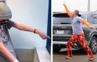 Sempre que seu filho está no hospital fazendo quimioterapia, este pai dança no estacionamento para ficar perto dele