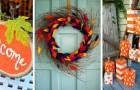 12 proposte super-creative per decorare casa e giardino celebrando i colori dell'autunno