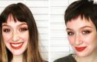 18 kvinnor som har bestämt sig för att klippa av sitt långa hår och förändra sitt utseende