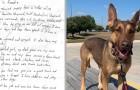Ze vinden een hond met een ontroerend verzoek om hulp aan haar nek hangen en geven haar een nieuw leven