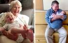16 foto che testimoniano il profondo legame che nasce tra un nipotino e i suoi nonni