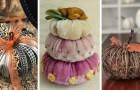 18 spunti meravigliosi per realizzare decorazioni fai-da-te a forma di zucca