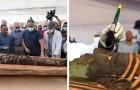 Egitto, scoperta una mummia di 2500 anni perfettamente conservata: potrebbe essere la prima di tante altre