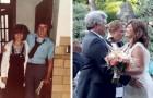 Se casan después de una promesa juvenil donde se casarían si permanecían solteros a los 50 años