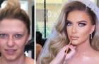 Gracias a su habilidad de maquillador, logra transformar a cada mujer en una novia
