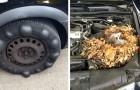Deze monteurs plaatsten foto's van de meest rampzalige auto's die klanten naar de garage brachten