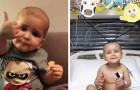 Esta criança sobreviveu à leucemia, a um transplante e ao Covid: aos 2 já é um pequeno guerreiro