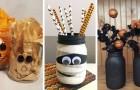 Halloween : 10 idées créatives pour décorer la maison en recyclant les bocaux en verre
