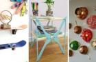 14 trovate inedite e creative per decorare la casa con oggetti inutilizzati