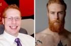 Un ragazzo in sovrappeso si fa crescere la barba e decide di cambiare vita: ora è un top model di successo