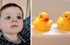 Uma criança corre o risco de perder a visão por causa de um brinquedo que usou no banho: um perigo real mas pouco considerado