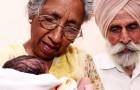 Hon föder sitt första barn vid 72-års ålder, parets dröm om att bli föräldrar går äntligen i uppfyllelse
