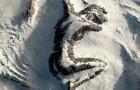 La montagna a forma di donna addormentata: un'opera digitale che ha fatto letteralmente impazzire gli utenti