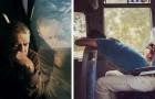 Een vrouw maakt foto's van gewone mensen op weg naar hun werk: de beelden zijn heel poëtisch